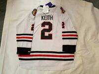 Chicago Blackhawks jersey NEW Duncan Keith youth