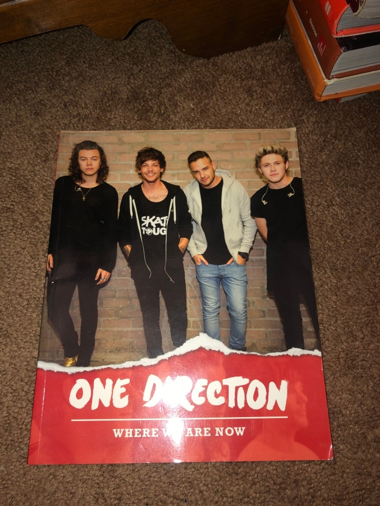 Photo One Direction book (one of many!)