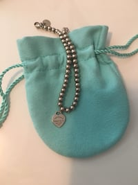 Tiffany mini heart tag bead bracelet Oakville, L6M 0G7