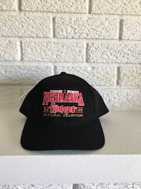 Retro Nebraska Football Hat