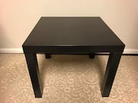 IKEA black side table 伯克, 22015