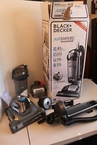 Black & Decker Air Swivel BDASV104 Upright Vacuum Cleaner W Pet Tool kit North Miami Beach, 33162