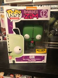 GIR (GITD) Invader Zim Funko Pop! #12 Hot Topic Exclusive North Bergen, 07047