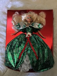 Holiday Barbies- out of box- never played with. Vancouver, 98683