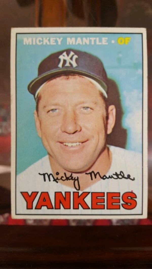 Mickey Mantle Baseball Cards - BEST OFFER GETS THEM. MUST GO. MOVING. 20d73f77-2592-42b9-8802-8813d8723373
