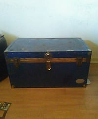 black and brown wooden chest box Toronto, M5A 2G1