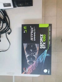 1060 Strix 6gb video card