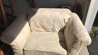 gray and white floral sofa chair Bernardsville, 07924