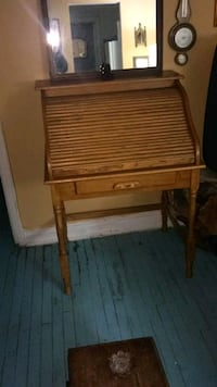 Classic wooden desk priced to go !