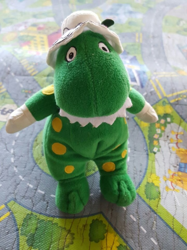 Used 6 Inch Plush Wiggles Dorothy The Dinosaur For Sale In