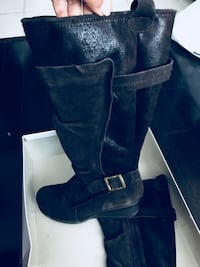 Brown Winter boots Size 7 Toronto, M3C 1T1