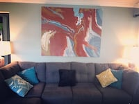 Large ORIGINAL canvas painting - my own work Arlington, 22204