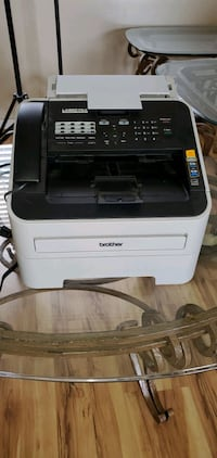 Brother fax and copy machine