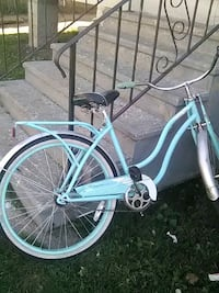 teal and white cruiser bike Kalamazoo, 49007