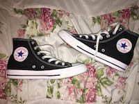 Black and White Classic Converse High Tops