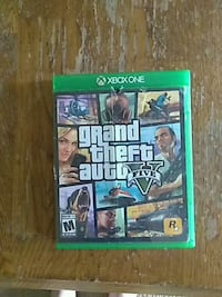Grand Theft Auto Five Xbox One game case Evansville, 47710
