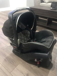 baby's black and gray car seat carrier Caledon, L7E 5B1