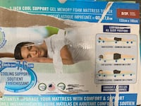 New mattress pillow topper double  Mississauga, L5A 4G1