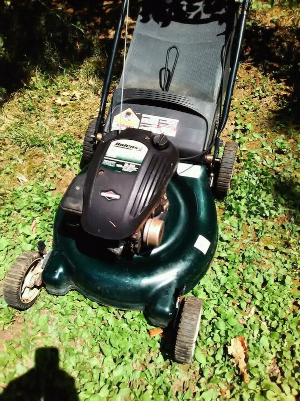 Bolwns 21 Inch Lawn Nower With Grass And Leaf Bag