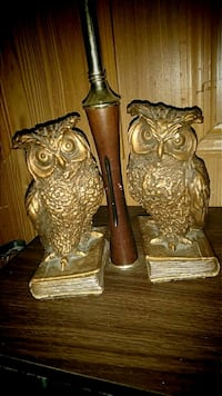 Vintage pair of Owl bookends  Nitro, 25143