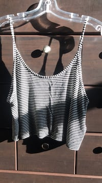 Stripes H&M tank top  Toronto, M5J 1E6