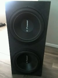 15 inch subs in box work great  Houston, 77073