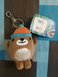 brown and white bear plush toy Vancouver, V6Z 1R3