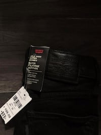 Levi's Black Mike Highs Size 24/30
