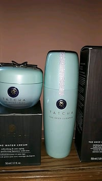 TATCHA The water cream + The deep cleanse Sterling, 20164