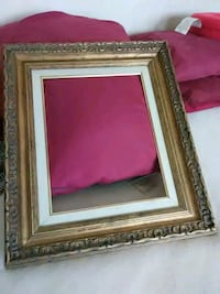 Ornate 18 by 21 frame with 1 inch gold mat Colonie, 12205