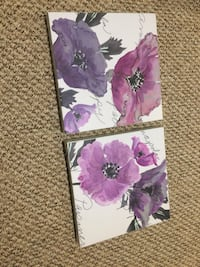 purple and white floral iPhone case Smithville, L0R 2A0