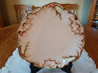 1950-1953 Ridgway Sterling/Lawley Pottery Plate For Sale!  Ottawa