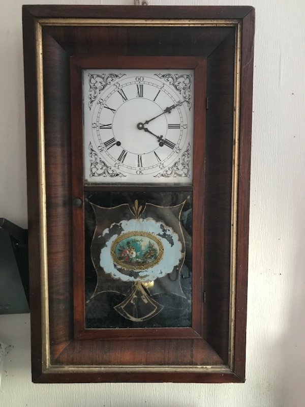 Waterbury Brass Clock