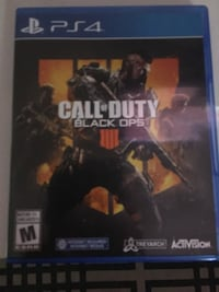 Ps4 call of duty black ops  Mississauga, L5B 4J1