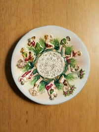 Vintage Mini Collector Plate 1942 Wartime Japan Washington, 07882