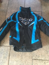 Blue and black fox racing jacket Saint-Augustin-de-Desmaures, G3A 0K6