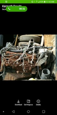 1994 chevy engine fully dressed