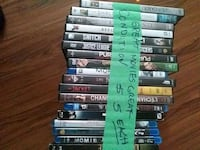 assorted Xbox 360 game cases St. John's, A1E 4L2