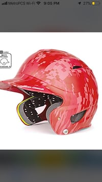 Helmet /Under Armor Baseball Helmet Rockville, 20852