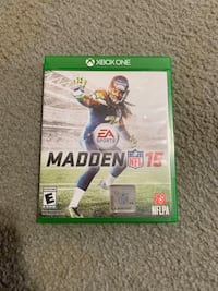 Xbox one madden 15 game
