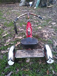 Toddlers Schwinn antique tricycle