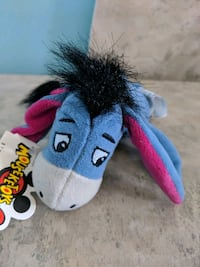 Eeyore winnie the pooh beanie plush toy with tags Toronto, M1C