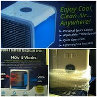 Cool,purify,humidify...new in box never used. Oaklyn