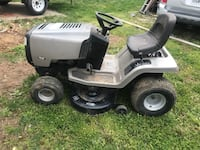 White and black ride-on mower District Heights, 20747