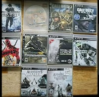 assorted Sony PS3 game cases Vine Grove, 40175