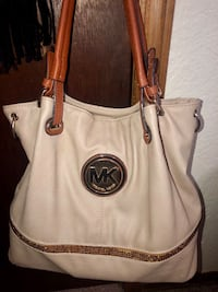 Large Tan MK purse Norman, 73069