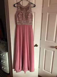 women's pink and silver sleeveless dress Vaughan, L4L 1R9
