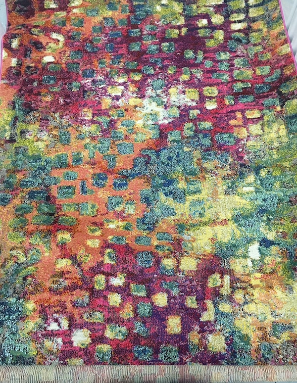 Massaoud Multi-coloured Area Rug 5' by 8' fee8b4b0-886b-4232-9fd9-18a174fc5abf