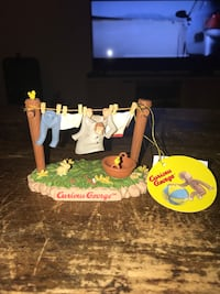 Curious George clothes line figurine new with tags Baton Rouge, 70802