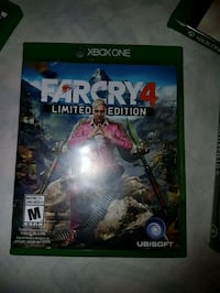 Farcry 4 Xbox One game case 541 km